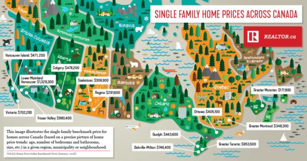 2021加拿大房价走势 - 2021加拿大房价走势?不同机构预测不同