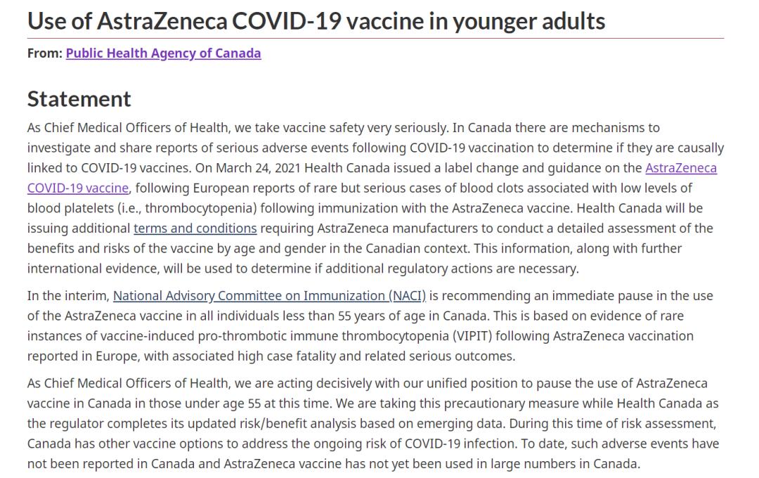 """又见""""居家令""""!疫苗、堂食叫停!加拿大疫情新进展!"""