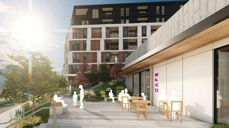 - 纳奈莫公寓之400 Fitzwilliam Street, Nanaimo新Telus公寓
